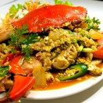 Crab menu