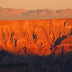 Sunrise over the canyon, you will need to be up and in position by 6pm for this.