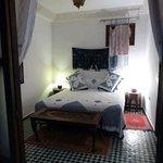 our room at Dar Fes Medina