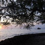 Sunrise on Tom Owens Cay, Belize