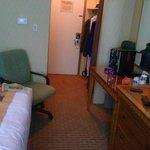 Adria hotel view of room door