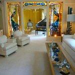 Living Room - Graceland Mansion
