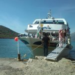 Pleasant boat trip over