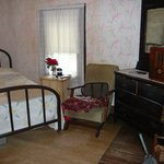 Inside the two room shack - Elvis Presley's Birthplace