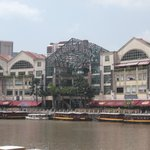 Riverside point from river taxi