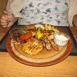 gorgeous, beautiful chicken mixed grill mmmmmmmm