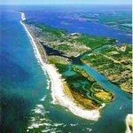 Aerial of Pleasure Island