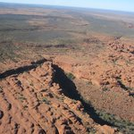Kings Canyon from the air