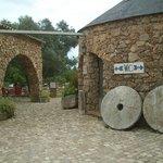 museo etnografico en el jardin del restaurante