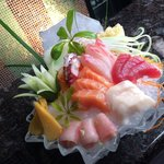 Fresh sushi and great Italian cuisine.