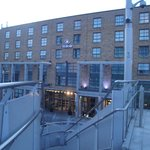 The hotel from the LUAS station