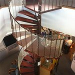 Spiral Stairs to Deck