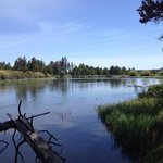 Deschutes river from cycle trail