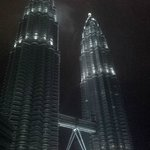 View from our room of the Petronas Towers