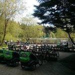 nearby the Jardin de sports