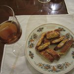 Traditional Tuscan Almond Cookies with Vin Santo