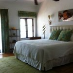 Our bright, airy room,