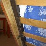 Telarañas bajo las camas