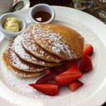 Pancake e fragole.......