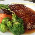 Beef Teriyaki at Umi Japanese Fine Dining restaurant, Hendersonville, NC