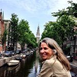 Ann Dunham in Amsterdam - Photo by Terry Hunefeld