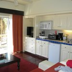 Kitchenette area(junior suite)