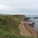 Cliff top site