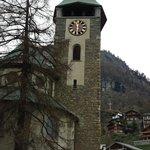 Igreja da  cidade de  Zermatt