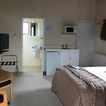 Our room in the Adventure Lodge & Motel