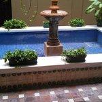 Empty water fountain 2