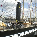 Outside view of the Brunel's ss Great Britain