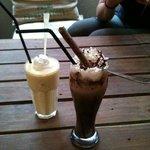 Koffie Mocca-ice
