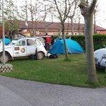 Zona de acampada.