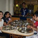 Daya bhabhi at THAKER Bhojanalay.