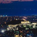 View from Lycabettus (sunset)