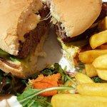 Old Station Cafe: Burger and Chips