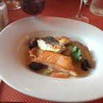 Fish platter.