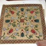 tapiz traído del extrangero
