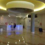 reception, modern and nice