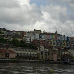 Colorful houses - view from my ferry boat ride