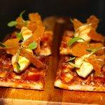Waffles - foie gras butter