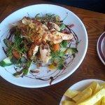 Hot chicken salad Beautiful