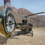 The awesome looking newer helicopters at Sundance