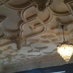 Carved plaster ceiling, Mansions on Fifth