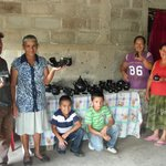 People selling black poetry from Jinotega, Nicaragua