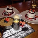 Pudding paradise at the Brickmakers in Windlesham
