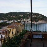 vistas desde la terraza para desayunos