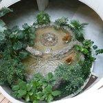 Fountain in Basement