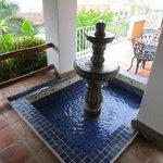 Casa Palapa fountain