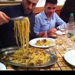 primo spaghetti e vongole